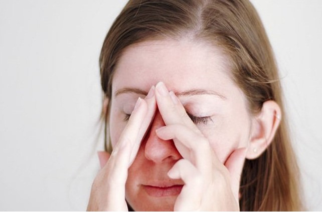 Are you suffering from sinus pain?